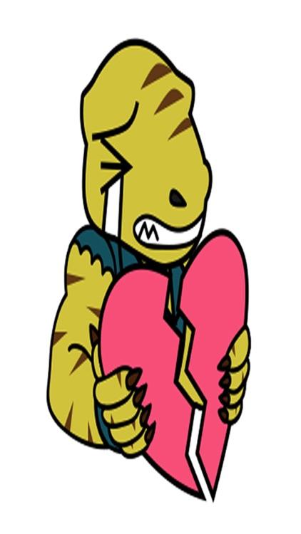Raptor Cop Animated Stickers screenshot-4