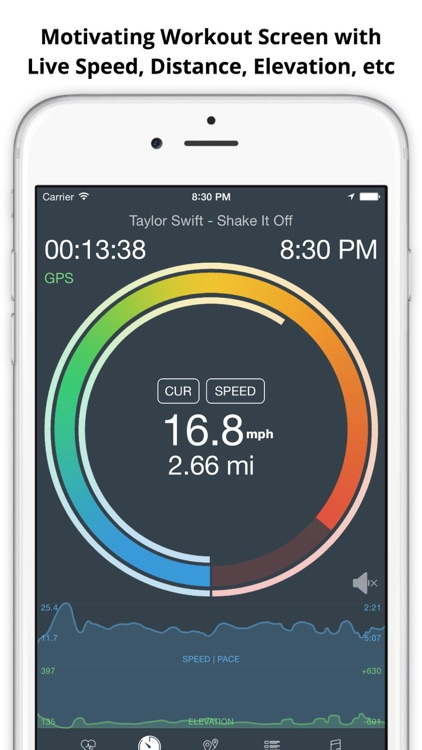 MotiFIT Ride - Cycling GPS + Heart Rate Monitor
