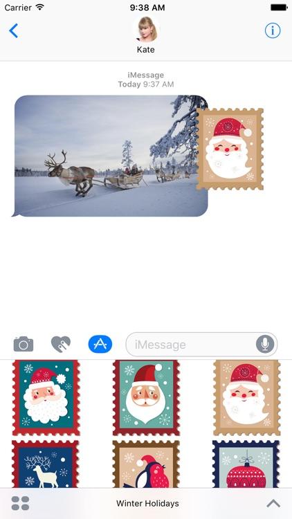 Winter Holidays Stickers