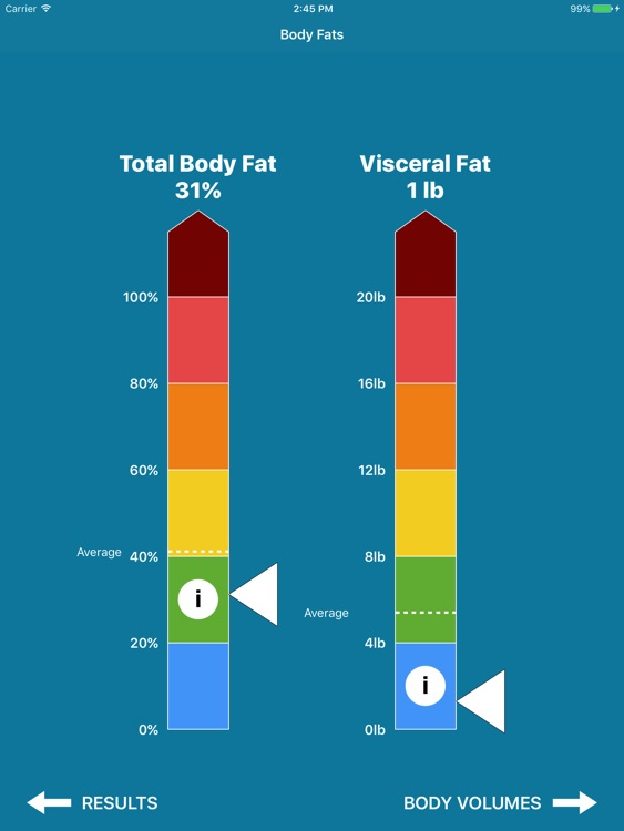 BVI Pro - 3D Body Volume & Fat Measurement Tool