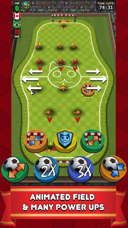 Foozy Kitty: Cat Soccer World Stars screenshot-3