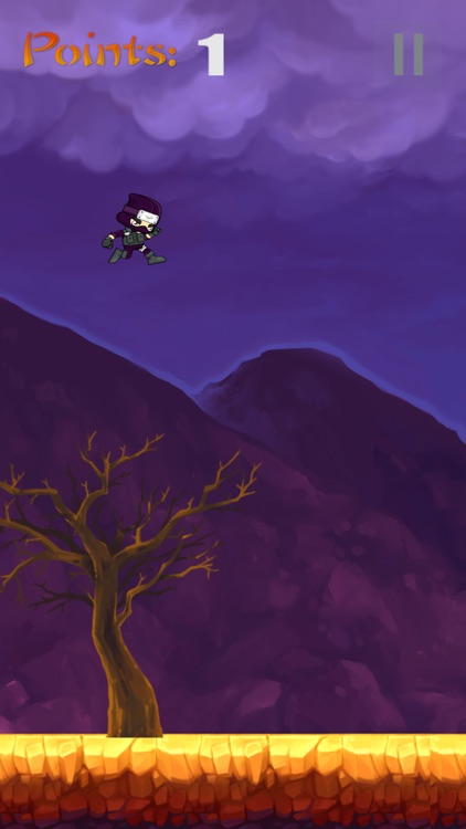 Flappy Ninja - don't get hit