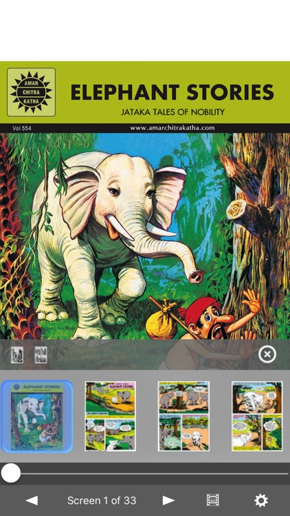 Jataka Tales Double Digest 2- Amar Chitra Katha screenshot-1