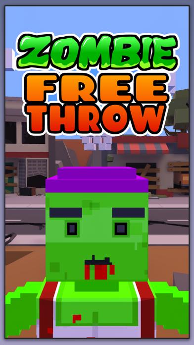 Zombie Free Throw screenshot four