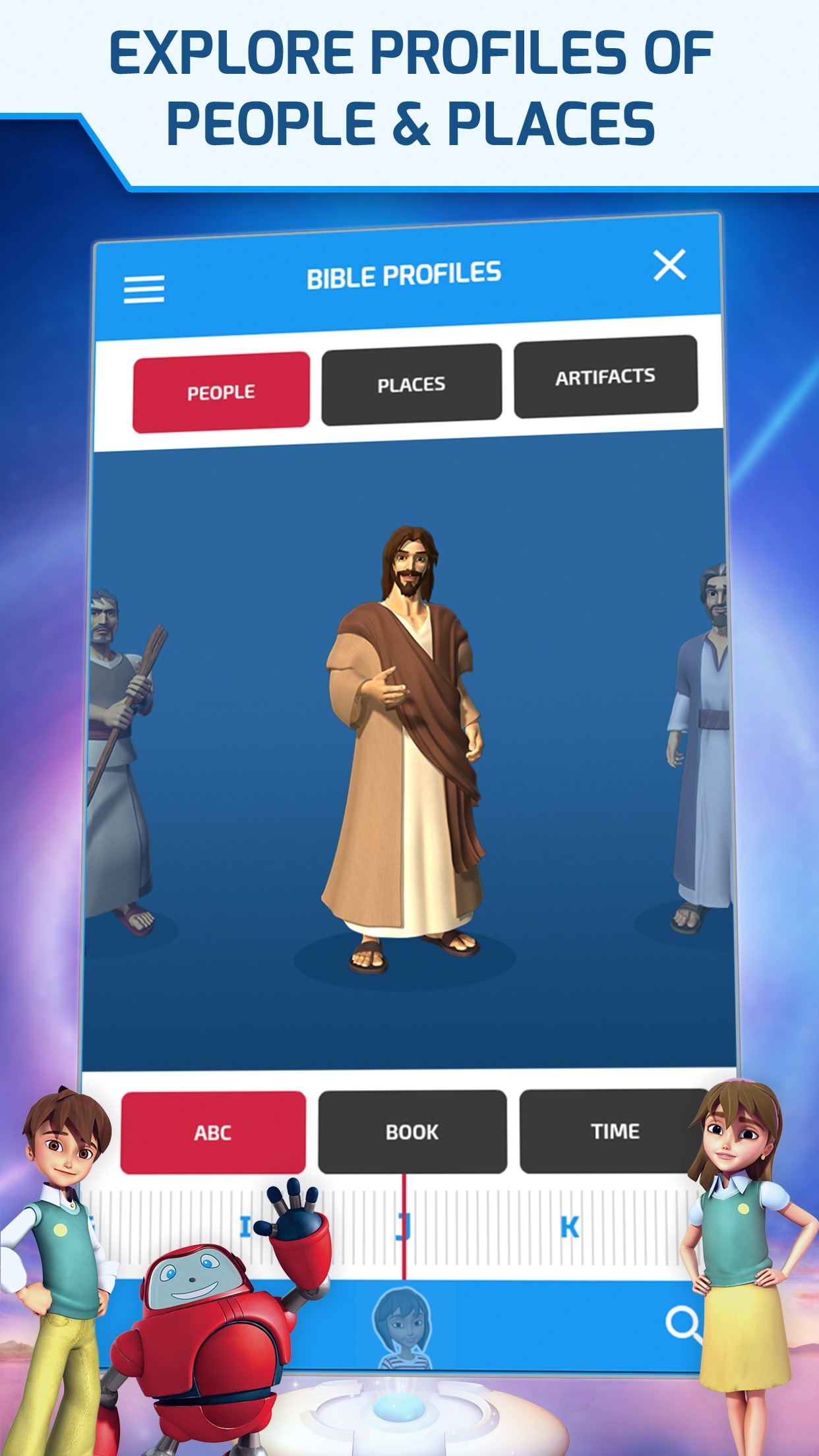 Superbook Kid's Bible, Videos and Games Screenshot