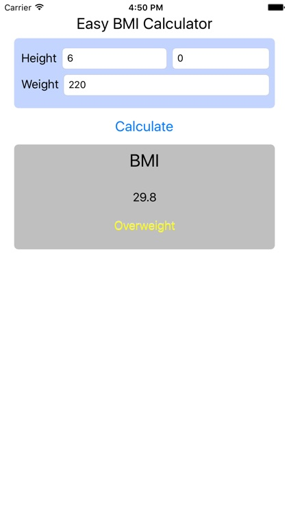 BMI Calculator - Find Your Body Mass Index screenshot-1