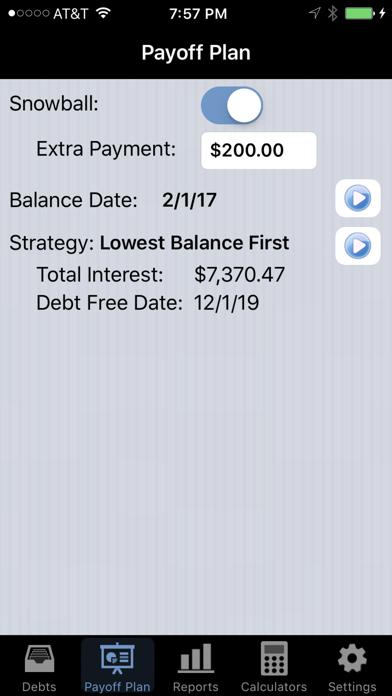 Debt Payoff Pro screenshot four