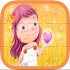 Colorful Cartoon Easy Puzzles for kid icon