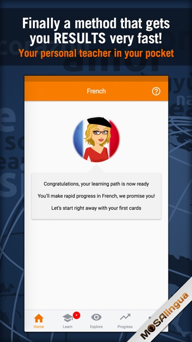 Screenshot #6 for Learn French - MosaLingua