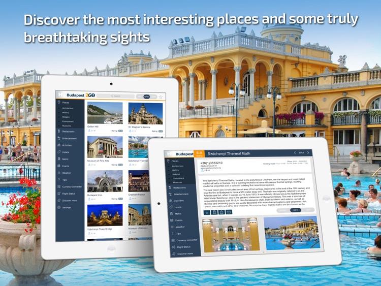 Budapest Travel Guide & offline city map
