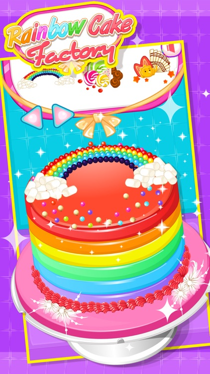 Rainbow Cake Factory - Cooking Game For Kids screenshot-3