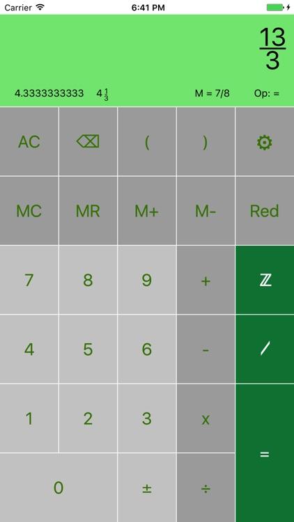 FraCa (fraction calculator)