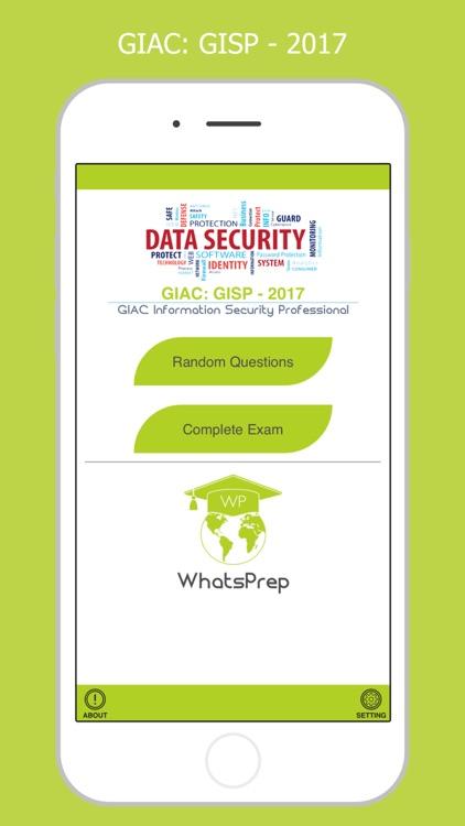 GISP: GIAC Information Security Professional