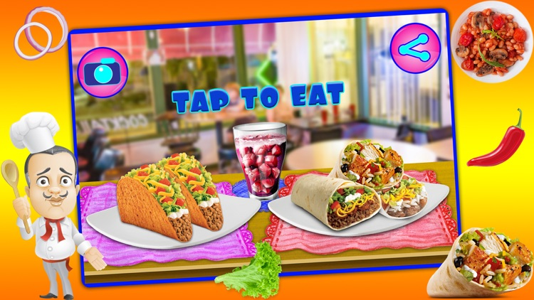 Mexican Food Chef Cooking Game screenshot-4