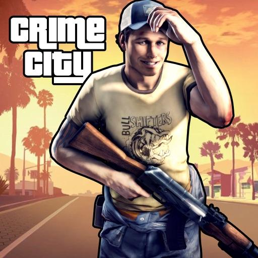 Crime City Gangster Shooter Games: War Simulator