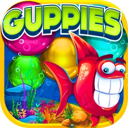 A Underwater Bubble Popper - Guppies Popped