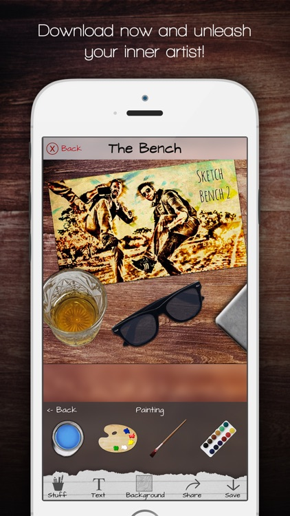 Sketch Bench - Mockup Scene Creator screenshot-4