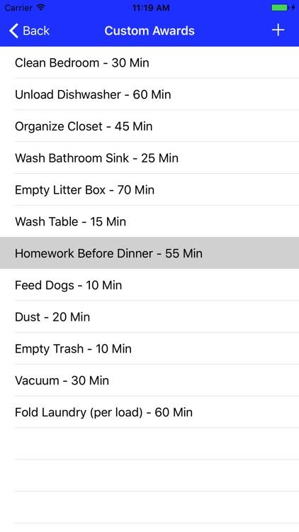 EarnPlay: Screen-Time Bank screenshot-3