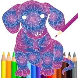 Animal Color Therapy Free Coloring Book for Adults