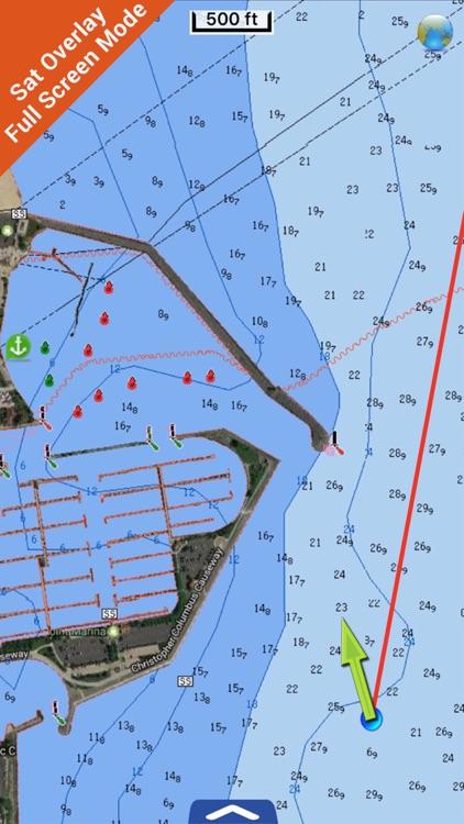 Michigan Lakes Fishing Charts