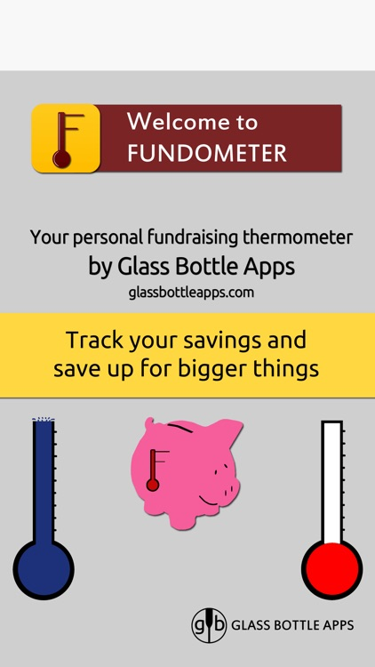 Fundometer - Your Personal Savings App