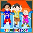 ABCD ColoringBook   de aprendizaj icon