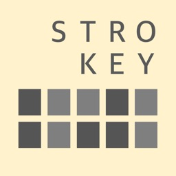 STROKEY-typing errorless new keyboard with 20 keys
