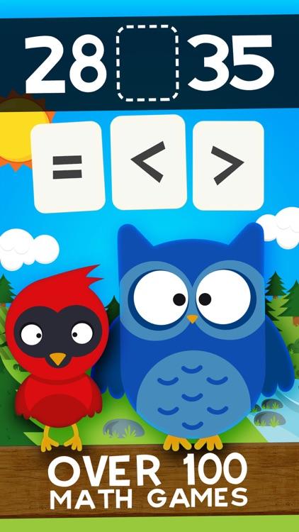Animal Math Second Grade Math Games for Kids Maths screenshot-0