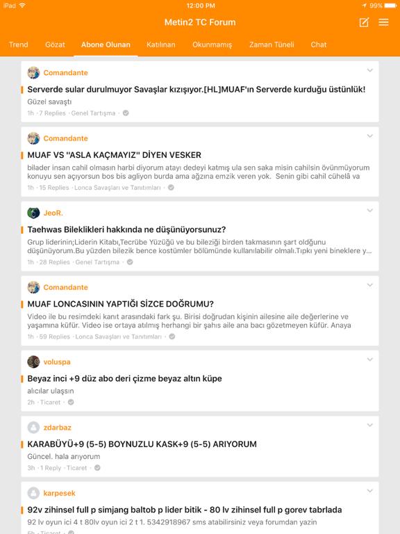 Metin2 TC Forum screenshot 5