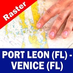 PORT LEON (FL) to VENICE (FL) – Raster N. Charts