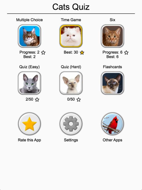 Cats Quiz - Guess Photos of All Popular Cat Breeds screenshot 8
