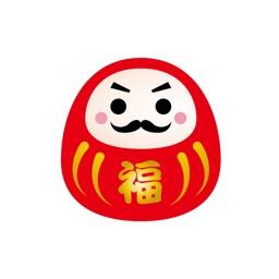 Japanese New Year sticker