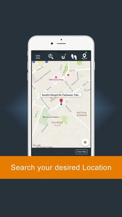 GPS Direction :GPS Driving Route screenshot-3