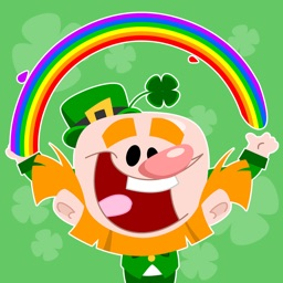 Luck of the Irish Animated Stickers