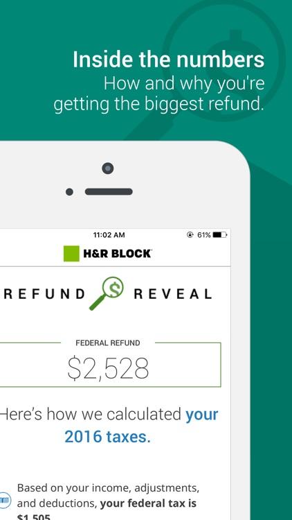 H&R Block Tax Prep and File 2016 returns screenshot-3