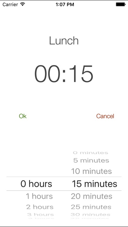 Personal Punch Clock screenshot-4
