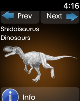 Dynosaurs Encyclopedia screenshot 15