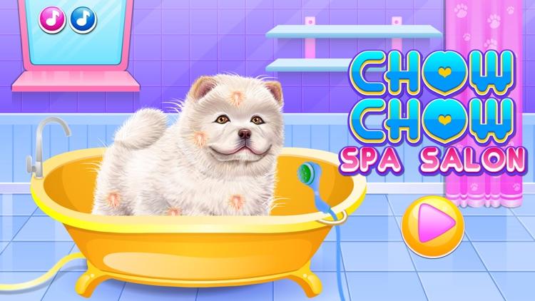 Fun Games:Chow Chow Spa Salon