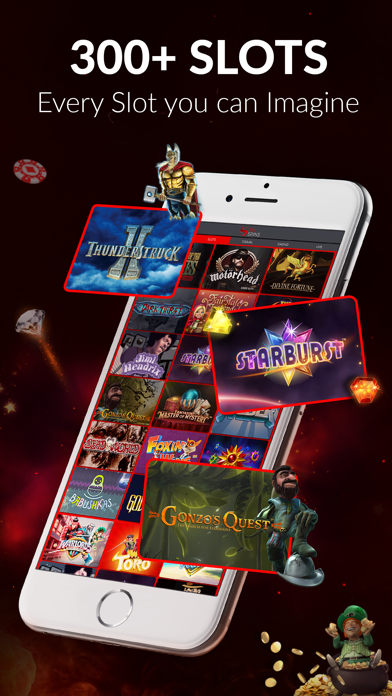 Sin Spins Casino: Spin and Win with 5 Star Spins screenshot two