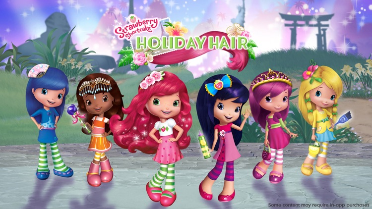 Strawberry Shortcake Holiday Hair - Fashion World screenshot-0