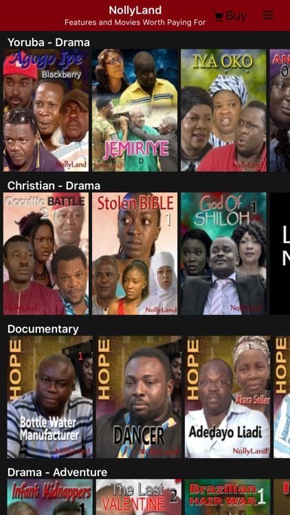 NollyLand - Nigerian Movies, Ghanaian, and African