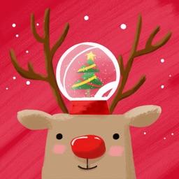 Christmasticka - Build your animated Snow Globes!