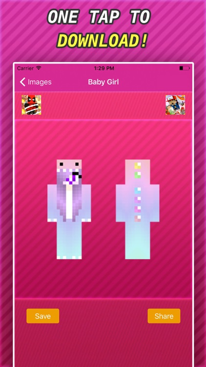 New BABY GIRLS SKINS FREE For Minecraft PE & PC screenshot-4