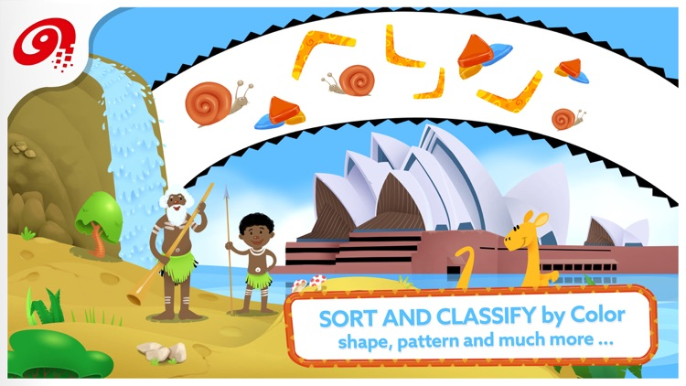 Little Ones Adventure - Sorting Shapes and Colors