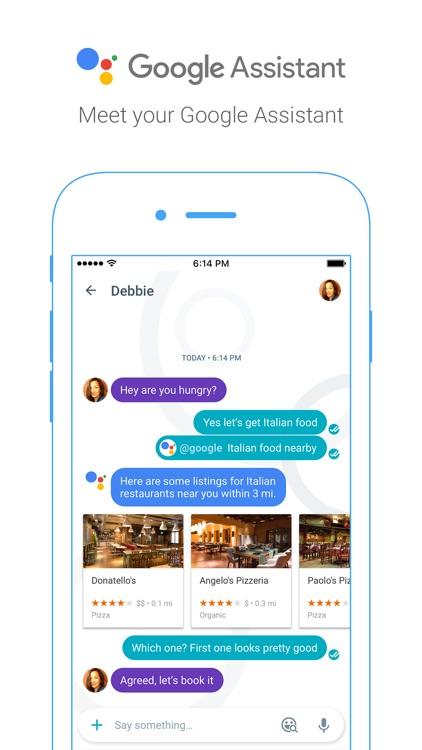Google Allo — smart messaging screenshot-3