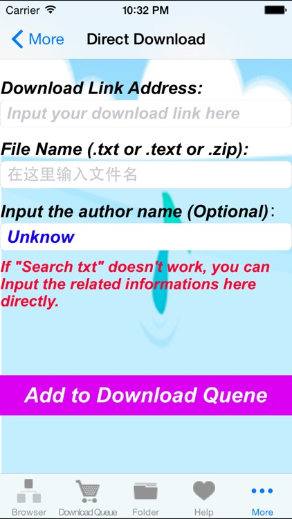 txt & text books downloader & reader - easy to use