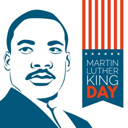 MLK Stickers - Martin Luther King Day Emoji