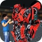 Roboter-Mechaniker – einen 3D futuristische Robote icon
