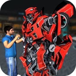 Robot Mechanic – Build A 3D Futuristic Robot