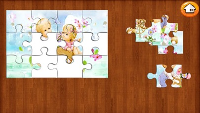Jigsaw Education Kids Cartoons Puzzles-Free